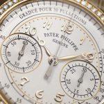 Die Referenz 7150-250R, ein Chronograph von Patek Philippe gewann den Jury-Preis als Damenuhr.