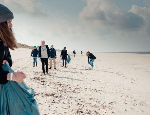 Breitling: Sauberer Strand auf Sylt