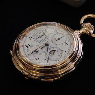 Die komplizierteste Taschenuhr von Audemars Piguet wurde für Jakob Dürrstein in Glashütte gefertigt.