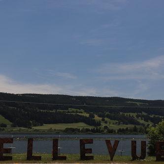 Das Mittagessen fand im Bellevue direkt am Lac-de-Joux statt.