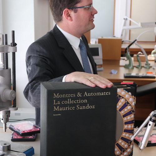 Die Sandoz-Sammlung wie auch andere Uhren werden bei Parmigiani restauriert.