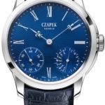 Die Sapphire Blue von Czapek mit ihrem blauen Emaille-Zifferblatt ist limitiert auf 100 Exemplare.