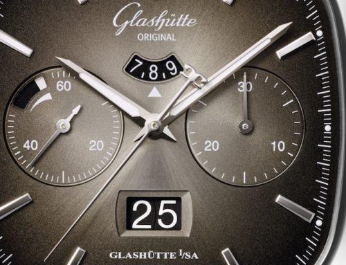Glashütte Original: Seventies Chronograph Panoramadatum Sondermodelle