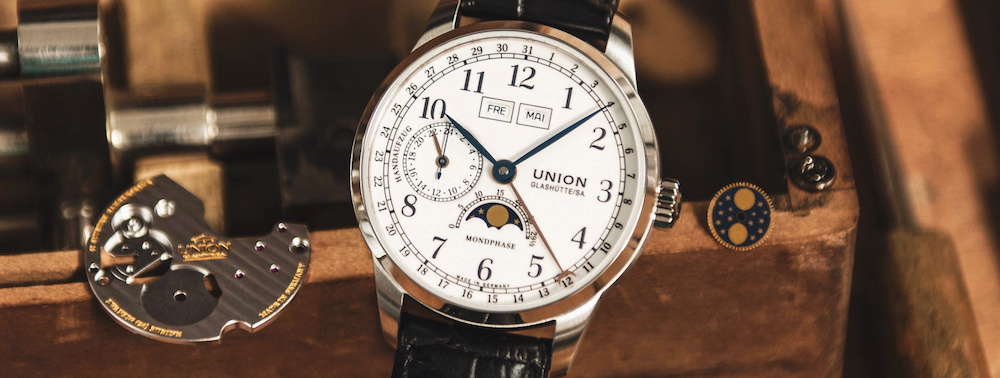 Union Glashütte 1893 Johannes Dürrstein Edition Monphase