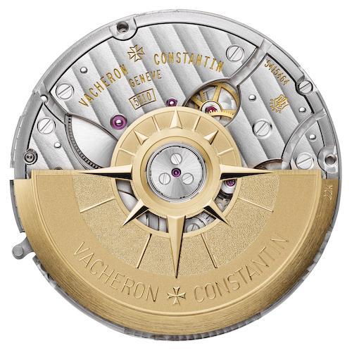 Die Energie der Schwungmasse aus 22-karätigem Gold speichert das Kaliber 5110DT in zwei Federhäusern für bis zu 60 Stunden.